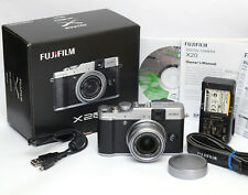 Fuji Fujifilm X20 12.0MP Digital Camera - Silver - Boxed - Superb