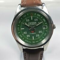 Vintage Citizen Mechanical Automatic Movement Date Dial Mens Wrist Watch C97