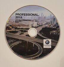 2019 BMW PROFESSIONAL SAT NAV DVD MAP  EUROPE NAVIGATION  DISC
