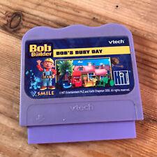 Vtech V Smile-Bob el constructor Bob's día ocupado Cartucho De Juego