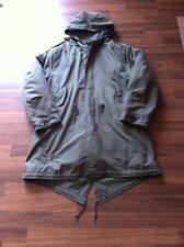 Unbranded Regular Size Parkas Cotton Coats & Jackets for Men