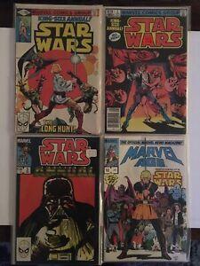Star Wars Annual Lot 1,2,3 VF/NM Marvel Age 10 Keys Issues