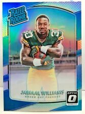 Jamaal Williams 2017 Donruss Optic SILVER Prizm Refractor RC #167 - PACKERS