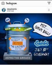 Houston Astros SGA Pre Sell The Grouch Talking bobblehead 7/31