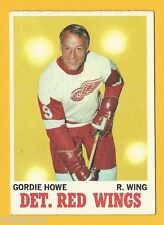 Gordie Howe - 1970-71 Topps #29 - Great Card - Very Nice!