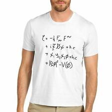 Men's Standard Model Math Equation Funny T-Shirt