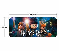 Lego Harry Potter Personalised Childrens Bedroom Door Plaque Sign Girls