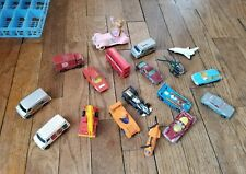 Lot of 18 Vintage Corgi & Corgi Juniors Pacer Superman Shuttle Airbus Pepsi plus
