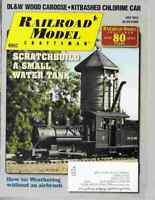 Railroad Model Craftsman Magazine July 2013 Scratchbuild A Small Water Tank