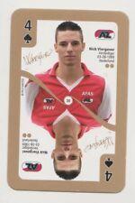Football Tradingcard Plus 2012-2013 #30 Nick Viergever AZ Alkmaar