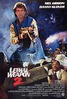 Внешний вид - LETHAL WEAPON 2 (1989) ORIGINAL INTERNATIONAL MOVIE POSTER  -  ROLLED
