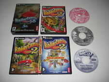 ROLLERCOASTER TYCOON 2 DELUXE Pc Inc Base Game + WACKY WORLDS & TIME TWISTER