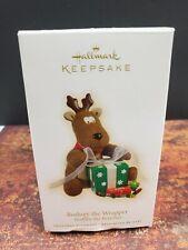 2009 Rodney The Wrapper Hallmark Keepsake Reindeer - Nib
