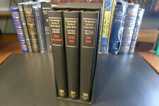 THE SELECTED STORIES OF ROBERT BLOCH, Signed/Numbered LTD Deluxe 3 Vols Slipcase