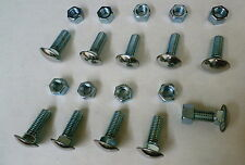 67 70 71 73 75 80 85 87 Chevy GMC truck bumper bolt SS capped low dome set of 10