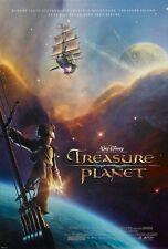 Walt Disney's Treasure Planet movie poster  : 11 x 17 inches