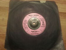 "Roxy Music Angel eyes 7"" POSP67 /EX"