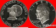 1976 S Eisenhower Dollar Type 2 Cameo Gem Proof No Reserve