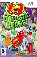 Jelly Belly Ballistic Beans Nintendo WII Video Game Original UK Release