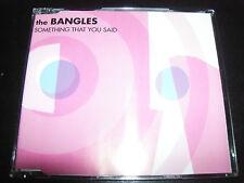 The Bangles Something That You Said Rare Australian 3 Track CD Single