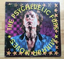 THE PSYCHEDELIC FURS SIGNED MIRROR MOVES VINYL RECORD RICHARD & TIM BUTLER PROOF