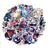 50 Retrosticker Stickerbomb Cartoon Galaxy Pc Aufkleber Sticker Mix Decals