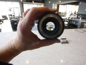 MINT CINE ROKINON 16mm T2.2 Lens Nikon F Mount - both caps - no hood