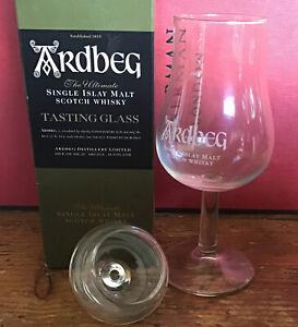 Ardbeg Islay Malt Whisky Rare Vintage Tasting Glass With Lid. Boxed