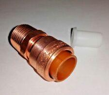 "PUSH FIT - Copper Proline 1/2"" x 1/2"" MALE ADAPTER  650-103LW PEX/CPVC/Copper"