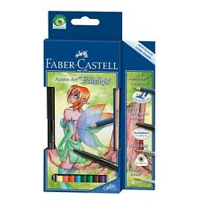 "Faber-Castell Aquarelle Farbstifte Mangaset Anime Art ""Fairies"""