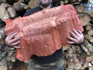 Seasoned Firewood Logs - Hardwood - Staffordshire - nets - sacks - log burner