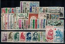 timbres France n° 1230/1280 oblitérés année 1960 complète