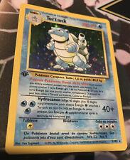 Carte Pokemon Tortank 2/102 Set De Base Edition 1 Excellent Français Wizard Ed1