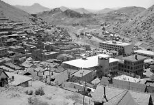 "1940 Aerial View of Bisbee, Arizona Vintage Old Photo 13"" x 19"" Reprint"