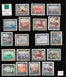 FS_1_407 INDONESIA - Valuable collection of 1948-1960 stamps. MNH