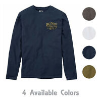 Timberland Men's Long Sleeve Built on Craft Graphic T-Shirt A1CXM