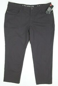 NEW! Under Armour Men's Payload Pants Dark Brown Size 42 x 30 1305042 $79.99