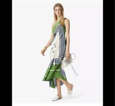 Tory Burch Sloane Silk Dress 4 RUNWAY Garden Party 2018 Hicks NWT $798