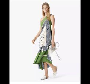 Tory Burch Sloane Silk Dress 4 RUNWAY Garden Party 2018 Hicks NWT $798