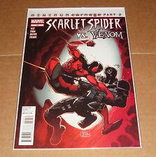 Scarlet Spider #10 1st Print Minimum Carnage Spider-Man