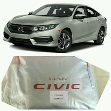 Car Covers w Bag Civic 10th 2016-19 Honda X FC 4D EX New Breathable Full Body