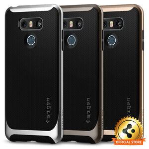 Spigen®For LG G6 [Neo Hybrid] Shockproof Protective TPU Bumper Slim Case Cover