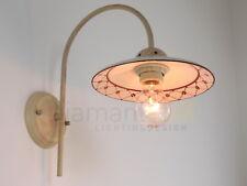 enea 3410 82m a1 applique rustico ceramica decoro greca marrone diamantlux