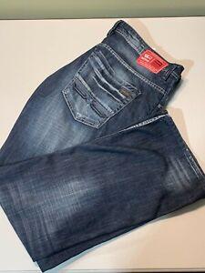 Men's Buffalo David Bitton Ash-X Jeans 32X32 32//32 BPM12329 NWT $109