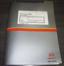 Werkstatthandbuch Seat Inca 4 Zylinder Einspritz Motor 1,4 Liter 2 Ventile AUD