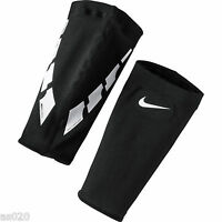 Nike Guard Lock Black Elite Sleeves - For Slip-In Shin Guard Shin Pads  One Pair