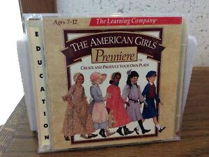 The American Girls Premiere The Learning Company 1997 CD