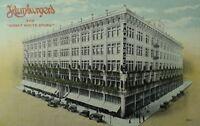 C.1905-10 Hamburgers Great White Store Los Angeles, CA Vintage Postcard P88