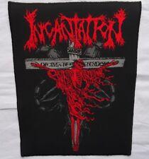 INCANTATION - ,,Decimate Christendom,, Giant BackPatch Rückenaufnäher Aufnäher