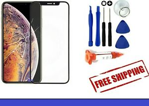 Outer Front Glass Screen Replacement Frame For Apple iPhone X XR Xs Max 11 Pro